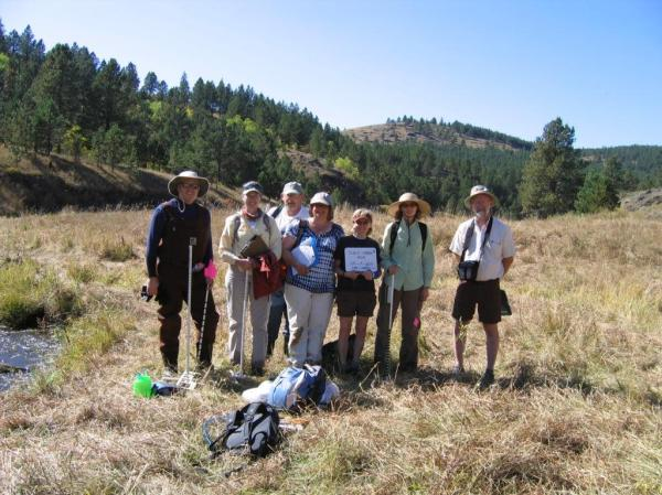 Slate Creek - MIM monitoring team